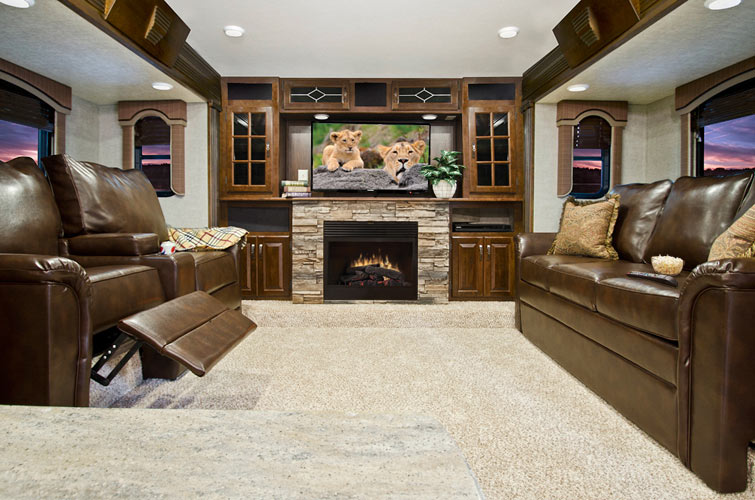 Alpine 3495fl Front Living Room Welcome To Rvtech
