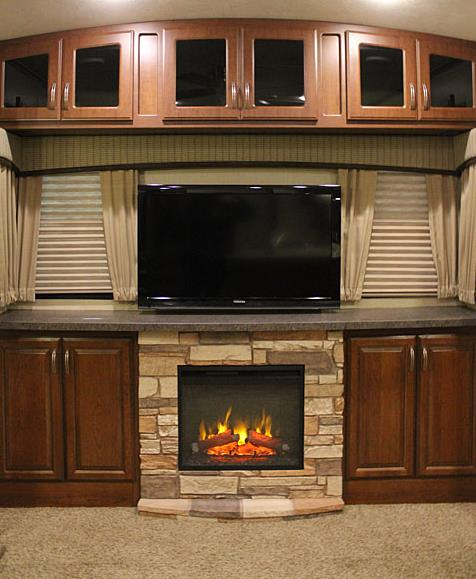 Rv Fireplace Under Countertop Welcome To Rvtech